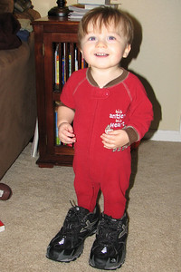cord's new shoes - north face rucky chuckies