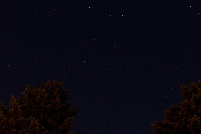 night sky by our house