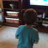 Cord playing the Wii