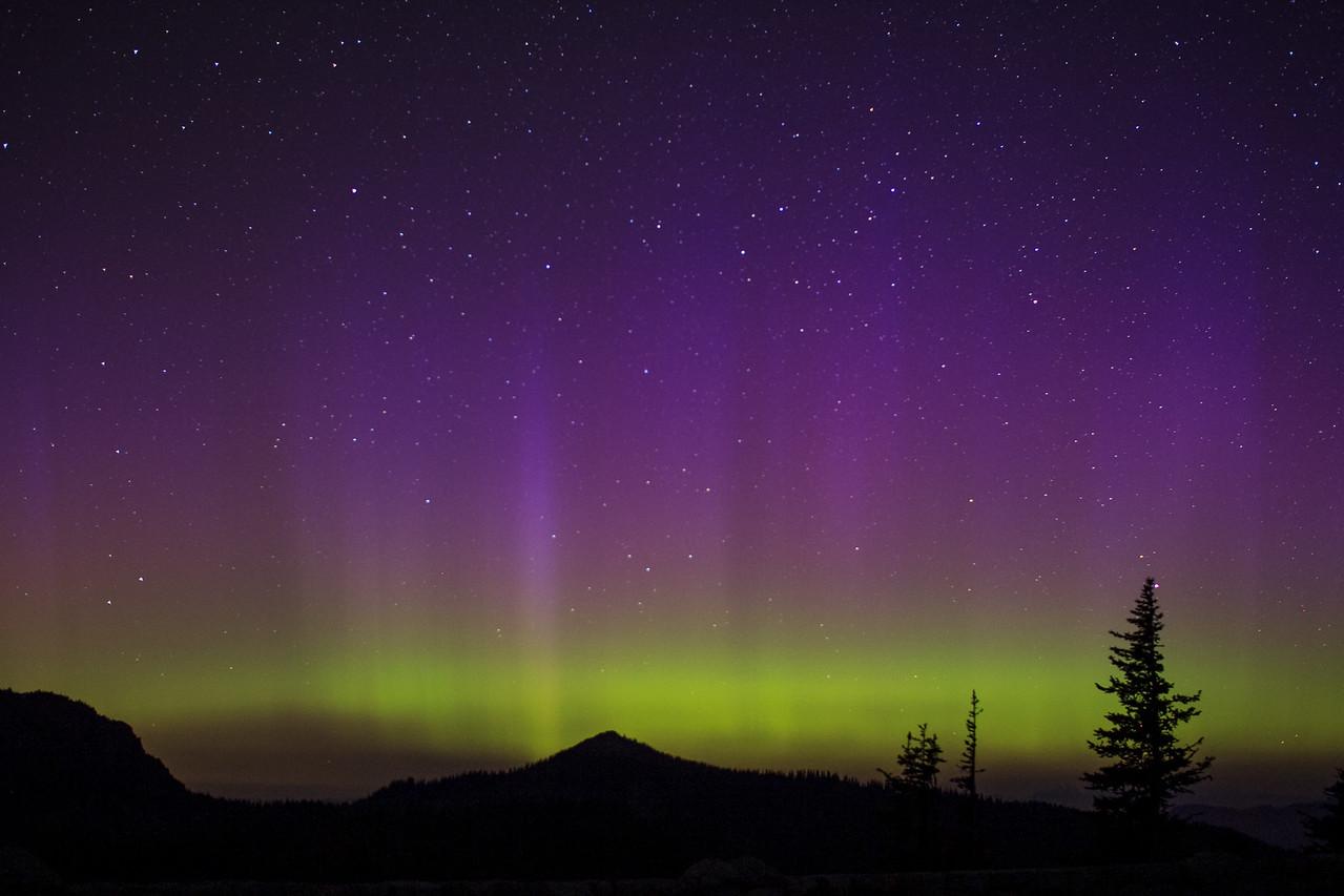 Aurora from Sunrise Point, MRNP