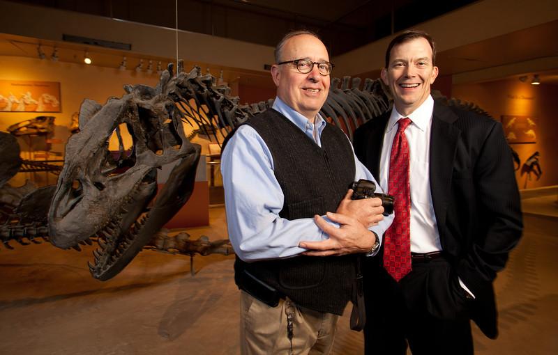 Hurlbert and Robertson at Smithsonian 12-3-13
