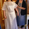 Second Fitting Of the Dress.<br /> They keep having to fight the spring time muddy roads to get out here so Kathy can fit the dress to her. She teaches school during the week so if the weekend is halfway nice she can maybe come out. There is not a big hurry on getting the dress done.