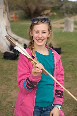 Primitive skills: spear throwing with atlatl