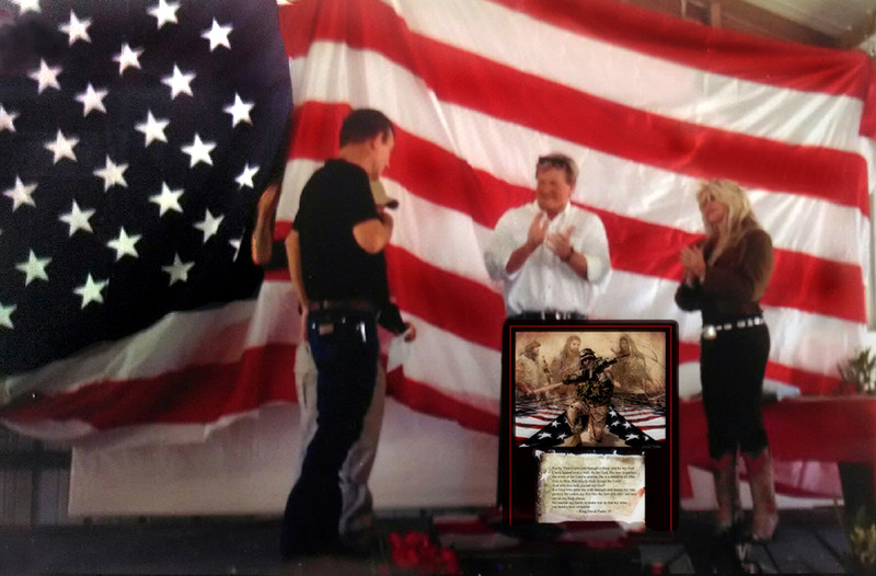 Wounded Warriors Tribute to a Soldier Recipient