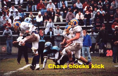 Chase  blocked  kick type