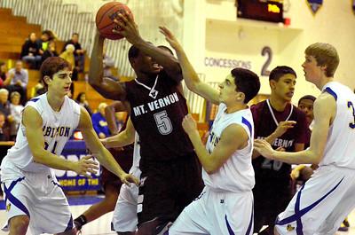 Boys Basketball..Dec 18, 2012-Mt. Vernon
