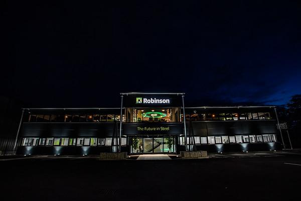 Robinson at night