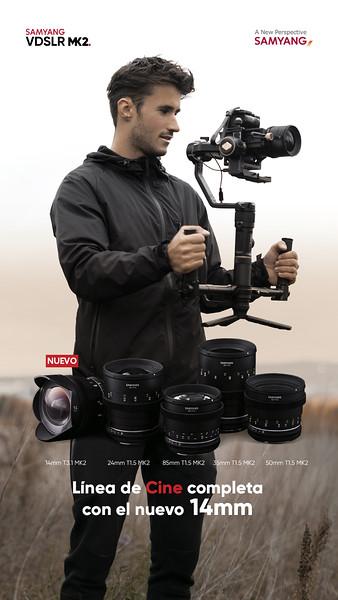 Samyang VDSLR MK2 Cine grande angular