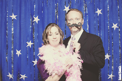 Jessica and Justin Wedding Photo Booth
