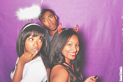 10-31-13 - UWG Campus Center - Halloween Party Photo Booth - Famous William Company