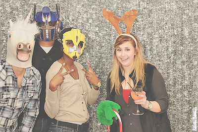 12-7-13 - Callaway Gardens - PPS 10th Annual Christmas Party 2013 Photo Booth - Robot Booth