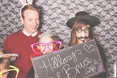 12-13-14 Atlanta Roswell River Landing PhotoBooth - Bruce & Hillary's Wedding - RobotBooth