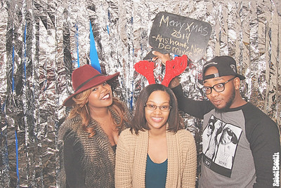 12-14-14 Atlanta Patchwerk Studios PhotoBooth - Patchwerk Recording Studios 2014 Holiday Party - RobotBooth