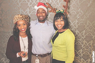 12-15-14  Atlanta Blue Cross Blue Shield PhotoBooth - BCBSGA Holiday Breakfast - RobotBooth