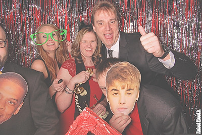 12-19-14 Atlanta W PhotoBooth - Rinnai Celebrating 40 Years - RobotBooth