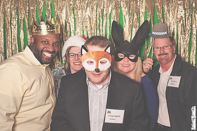 12-9-14 Atlanta PhotoBooth - Koch Business Solutions Holiday Party - RobotBooth