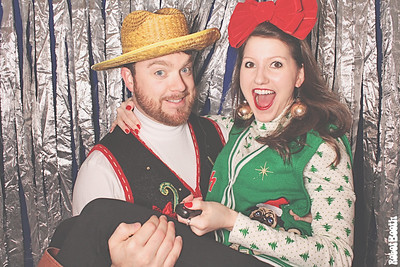 12-16-14 Atlanta Foxhall Resort and Sporting Club PhotoBooth - Foxhall's 3rd Annual Christmas Party - RobotBooth