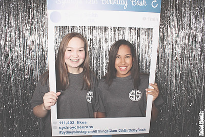 12-19-15 Atlanta Camden Pointe Clubhouse PhotoBooth - Sydney's Instagram - All Things Glam 12th Birthday Bash - RobotBooth