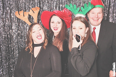 12-12-17 Atlanta Hilton Garden Inn Photo Booth - Casino Holiday Party - Robot Booth