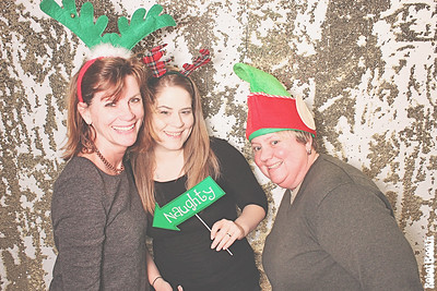 12-12-17 Atlanta Photo Booth - Peachtree 25th Holiday Party - Robot Booth