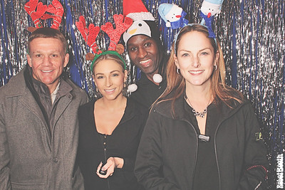 12-15-17 Atlanta Tongue and Groove Photo Booth - The Intersect Group Atlanta Holiday Party 2017 - Robot Booth