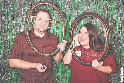 12-16-17 Atlanta Hilton Photo Booth - King Green Holiday Party - Robot Booth