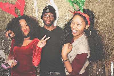 12-17-17 Atlanta Patchwerk Recording Studios Photo Booth - 2017 Holiday Party - Robot Booth