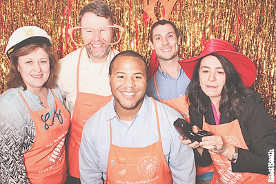 12-20-17 Atlanta Home Depot Photo Booth - McPhail's 2017 All Hands - Robot Booth