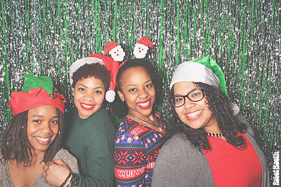 12-23-17 Atlanta Center Stage Photo Booth - Victory Midtown - Robot Booth