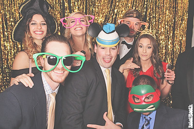 12-31-17 Chattanooga The Venue Photo Booth - McKenzie and Devon's Wedding - Robot Booth