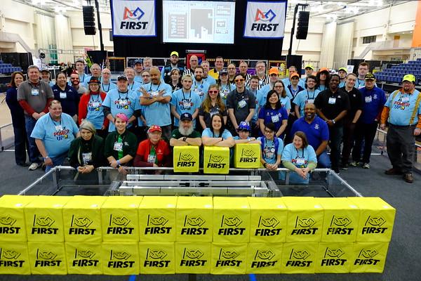 2018 FIRST FRC (Volunteers)