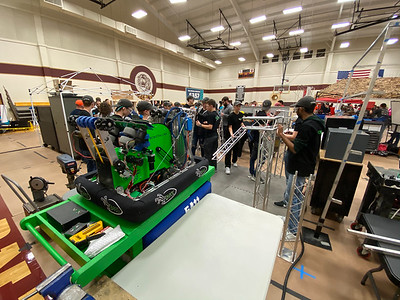 FIRST in Texas District Event, Dripping Springs, Texas, February 28th - March 1st, 2020. Photo by Dave Wilson.