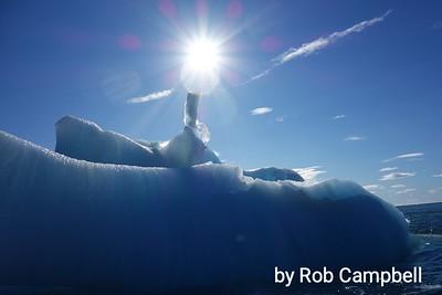 Ice berglet.