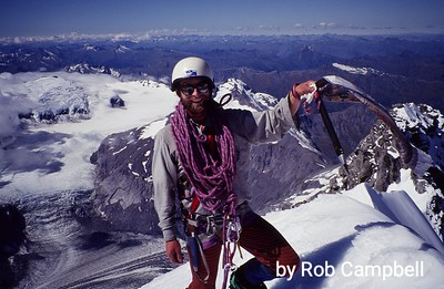 Legendary Kiwi mountain guide Paul Scaife.
