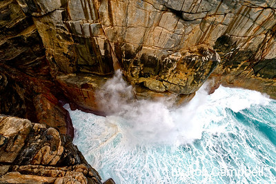 The Gap. Torndirrup Peninsula, south coast, Western Australia.
