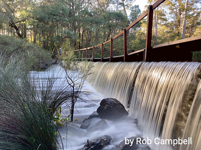 Town Weir. Margaret River, south west Western Australia.