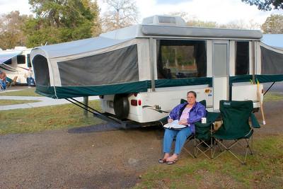 2009-03 Camping at Lake Somerville State Park