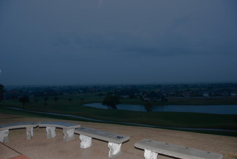 A gloomy and rainy Saturday morning for the 2012 Robson Ranch Senior Olympics.