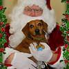 Buddy and Santa 2010
