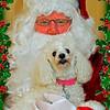 Mandy and Santa 2010