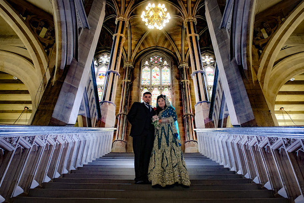 The Best Wedding Photo - Rochdale Town Hall.