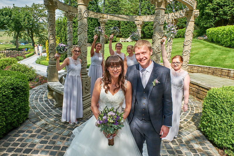 Wedding Photography at The Saddleworth Hotel Delph