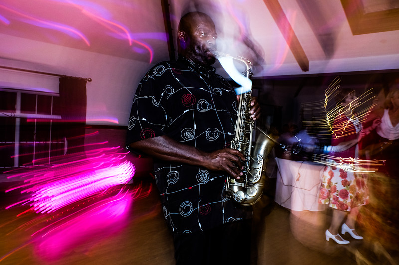 Funky Sax Player