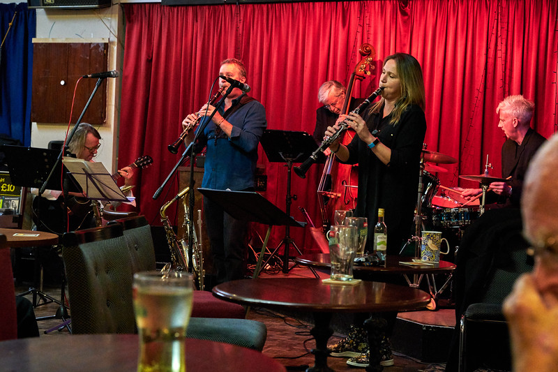 The Amy Roberts / Richard Exall Quintet