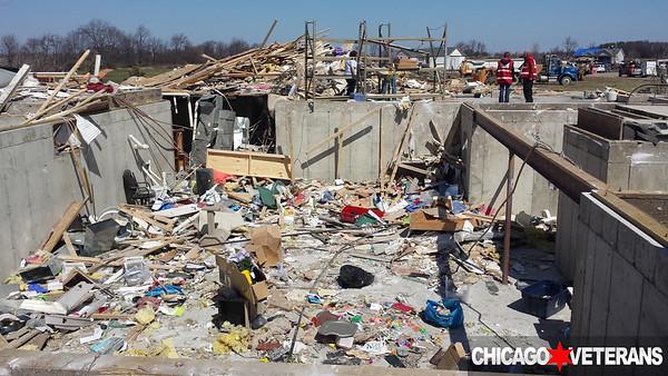Rochelle IL. Tornado Clean up