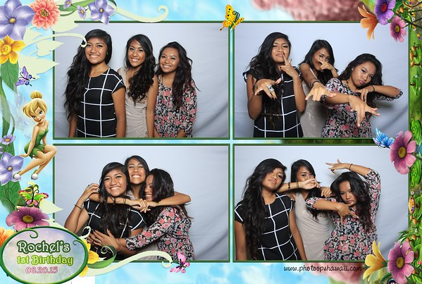 Rochel's 1st Birthday (Fusion Photo Booth)