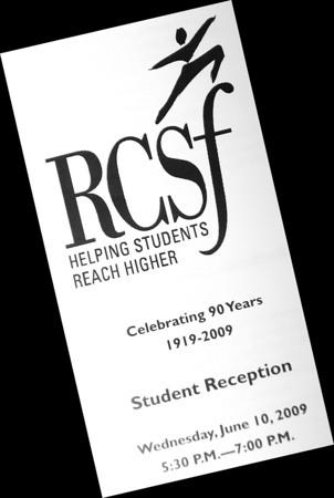 RCSF Student Reception (6/10/09)