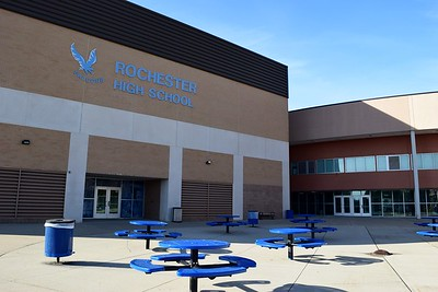 Rochester High School at 180 Livernois Road, Rochester, on Wednesday, Oct. 31.