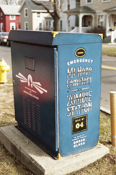 Fun traffic control box
