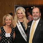 Debbie Stein, Miss Kentucky USA Katie George and Matt Stein.